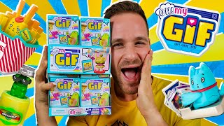 Oh My GIF UNBOXING CAJA COMPLETA 12 BITS en Pe Toys