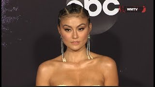 Agnez Mo arrives at 2019 American Music Awards Red Carpet