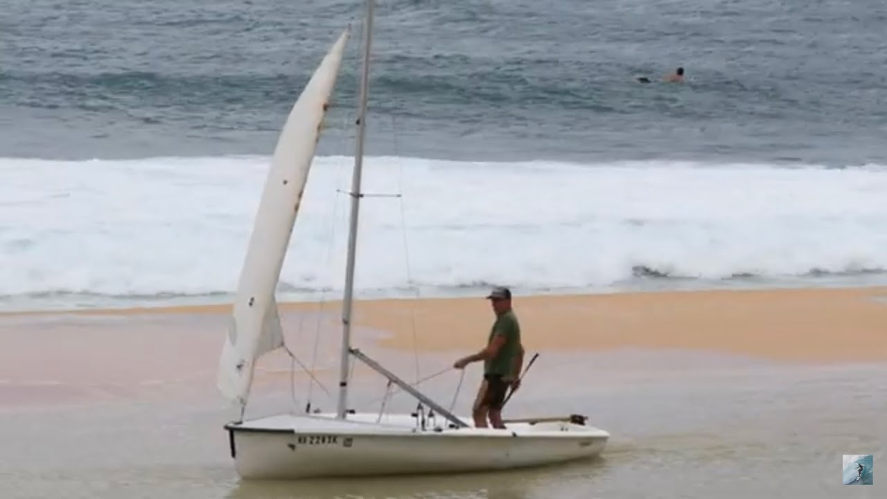 3-4ft NW SWELL HITS NORTH SHORE! PYZEL SAILS THE BEACH!?