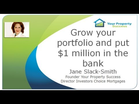 Grow your property portfolio and put $1 million in the bank