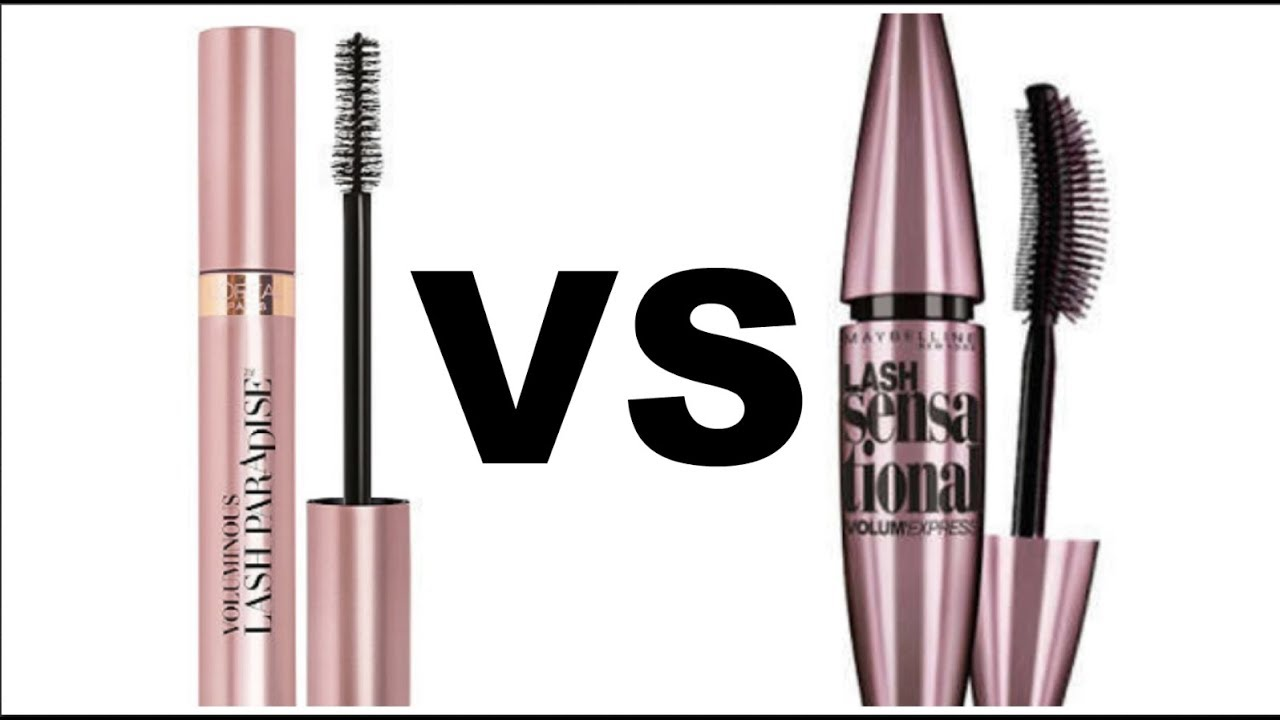 L'Oreal Lash Paradise VS Maybelline Lash Sensational Battle and Review