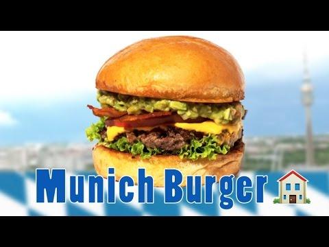 Burger House Munich ASMR Eating Sounds