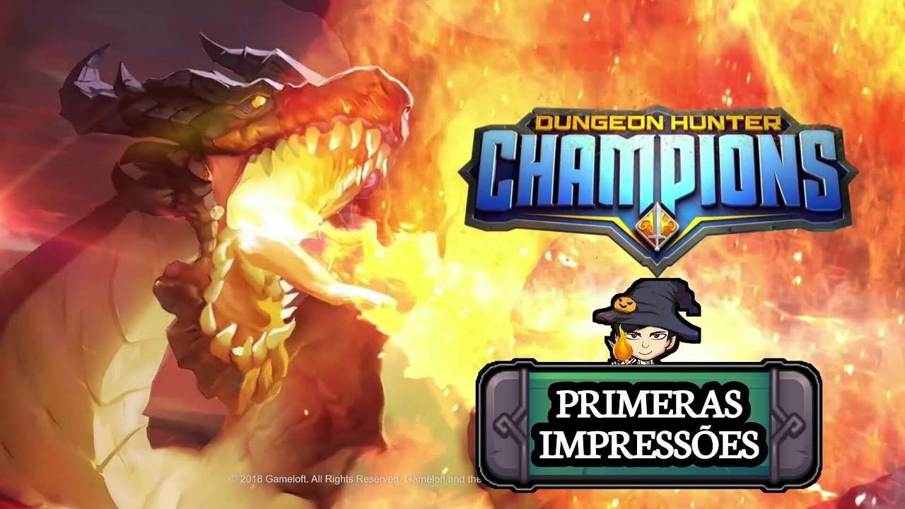 DROIDRPG - Muito bom!! / Dungeon Hunter Champions / GAMEPLAY ANDROID BR
