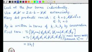 Mod-03 Lec-37 Klein-Nishina result for cross-section