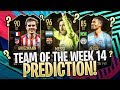 TEAM OF THE WEEK 14 AGGREGATE PREDICTIONS! FIFA 19 Ultimate Team