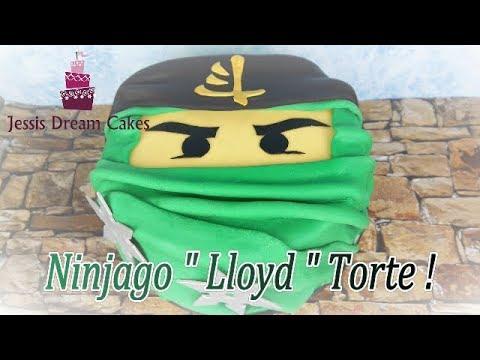 Einfache Ninjago Motivtorte Kindergeburtstagstorte Lego Ninjago Cake