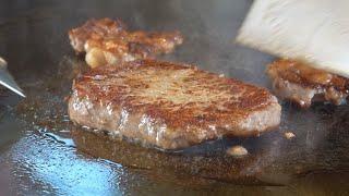 Sirloin Steak Teppanyaki - Taiwanese Food
