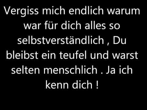 'Vergiss mich' - Bushido Lyrics