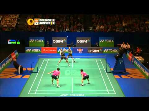 Badminton - best of men's doubles 2012
