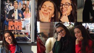 ENES BATUR  #hayalmigerçekmi filmi 🎬 Vlog | hande.dilara