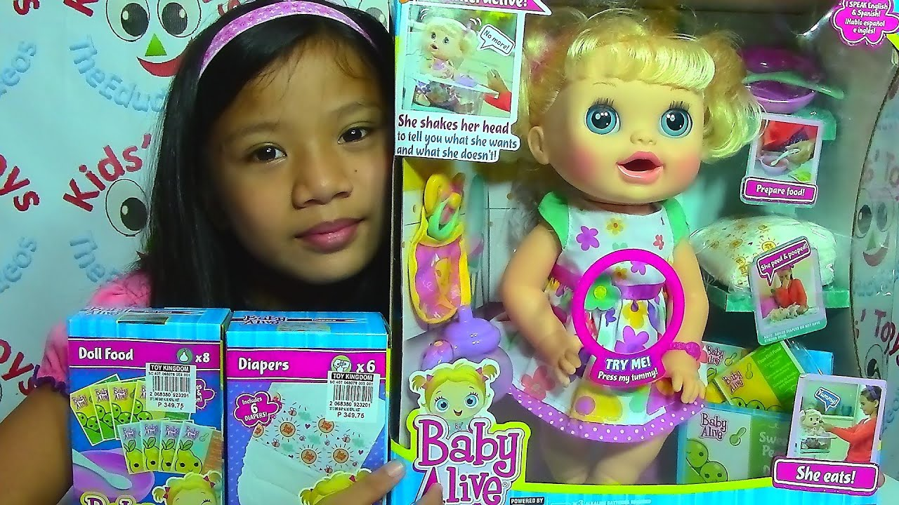 Baby Alive Doll Real Surprises Baby Baby Doll Collection
