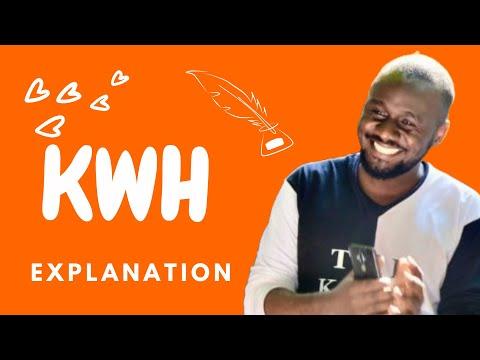 THE kwh | Kilowatt Hour explained by Kisembo Academy