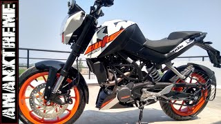 KTM Duke 200 Abs 2019 version :-- 5 Good and Bad things about Duke 200