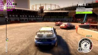 Colin McRae Dirt 2 PC Benchmark - Intel Celeron G1620 HD Graphics Dual Channel [ทดสอบ][DX11][HD]