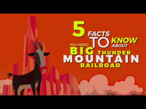 5 Facts You Need To Know About Big Thunder Mountain At Disneyland