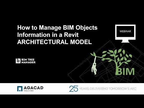 AGACAD Webinar: BIM TREE CHIMPANZEE Manage BIM Objects Information in a Revit ARCHITECTURAL MODEL