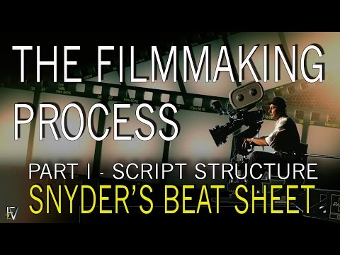 HOW TO Make a Movie (Part I) - The Filmmaking Process - Script Structure (Blake Snyders Beat Sheet)