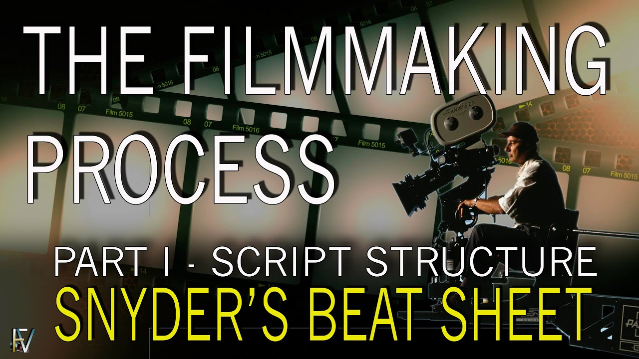 how to make a movie part i the filmmaking process script