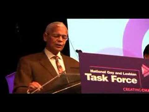 Julian Bond addresses the issue of marriage equality