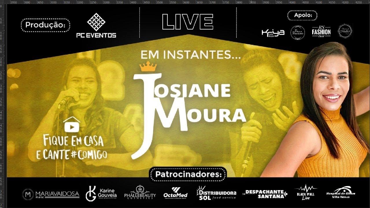 Live Josiane Moura #fiqueemcasacomigo #fiqueemcasa #emcasacomigo #cantecomigo