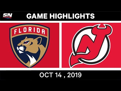 NHL Highlights   Panthers Vs. Devils – Oct 14th 2019