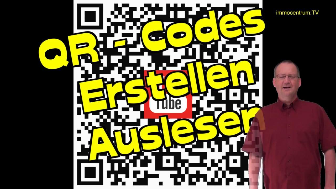 QR Code-erstellen/lesen-ganz einfach😃Strichcode-Barcode ...