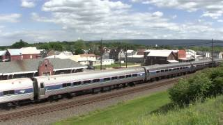 Amtrak Pennsylvanian train 43 Mifflin, PA 6 5 14