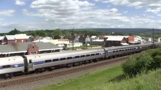 Amtrak Pennsylvanian train 43 Mifflin, PA 6 5 14