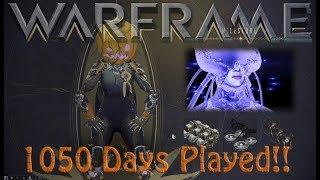 Warframe - 1050 Days Played Reward (Evergreen Cache?)