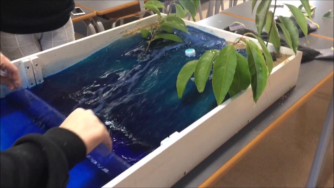 Tsunami forsøg