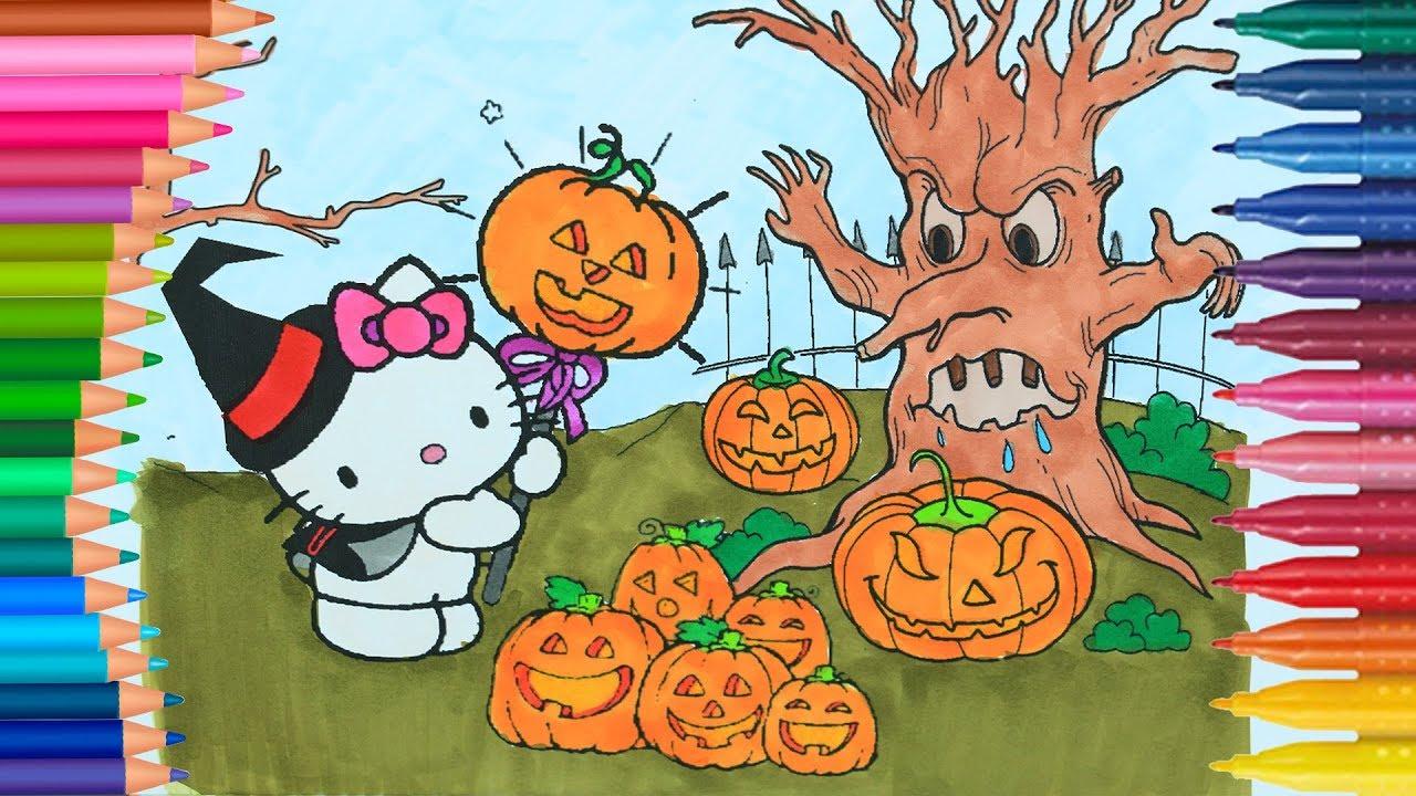 Libro para colorear de Hello Kitty para colorear para nios