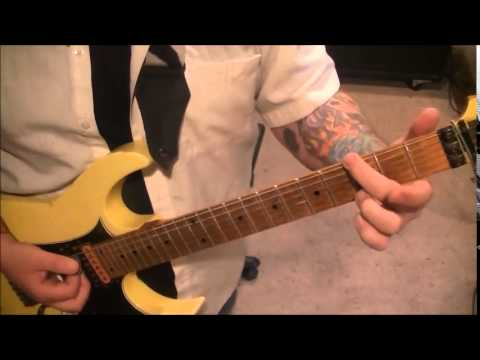Coney Hatch - Devils Deck - Electric Guitar Lesson by Mike Gross