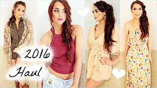 Spring/Summer TRY ON HAUL 2016! Rompers, Dresses, Boots & Bikinis | Jackie Wyers