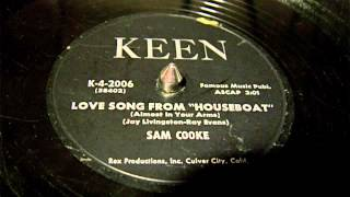 Sam Cooke - Houseboat - Almost In Your Arms 78 rpm!