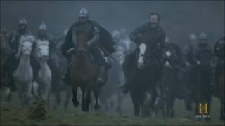 vikings 4x19 Ragnar's sons army  vs Aethelwulf's army