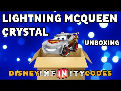 Crystal Lightning McQueen Unboxing - Disney Infinity - YouTube