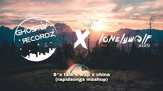 S*x talk x wap x china (rapidsongs mashup) Resimi