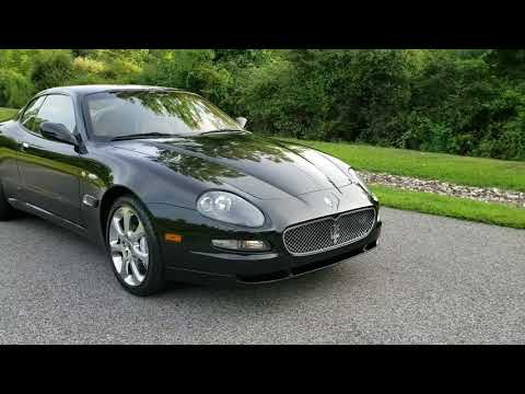 33k-Mile 2005 Maserati Coupe GT 6-Speed