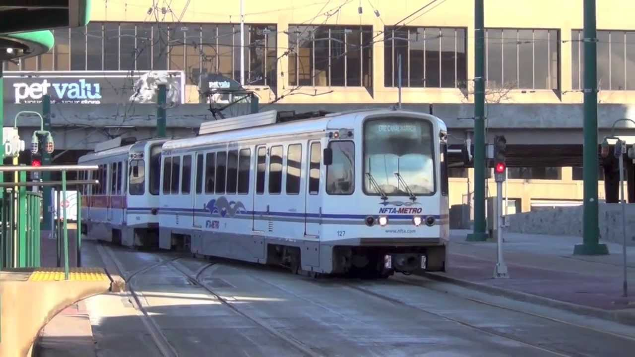Buffalo New York Light Rail Nfta Light Rail