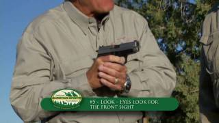"Draw or ""The Presentation"": Handgun Tip 