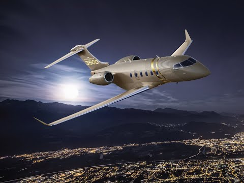 Challenger 3500 business jet
