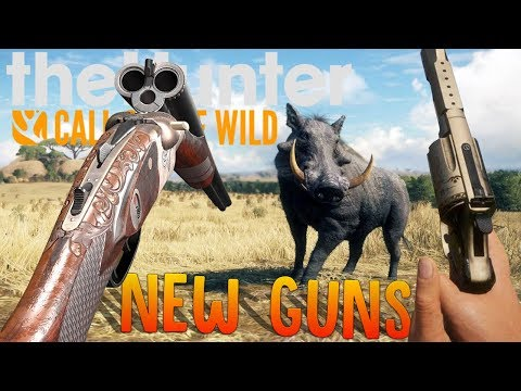 The Hunter - New Tri-Barrel Shotgun Rifle Hybrid, Pistol Shotgun & Aggressive Animals - Hunter COTW