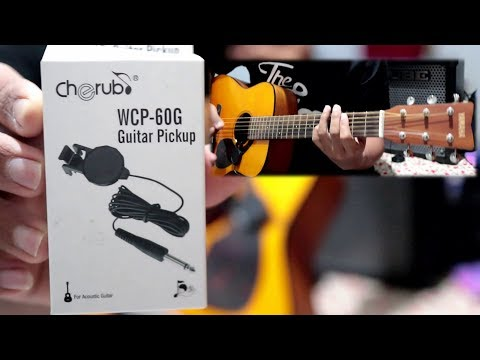 Gitar Akustik jadi Elektrik dgn Pickup ini (Review Cherub Clip on) Mp3