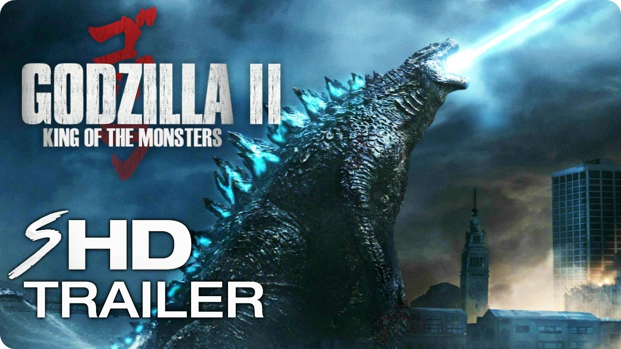 GODZILLA 2: King of the Monsters - Teaser Trailer Concept #1 (2019) Action Movie HD