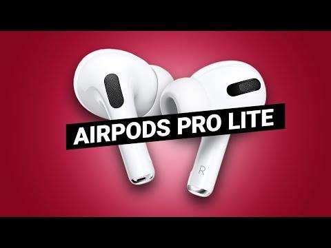 Дешевые AirPods Pro Lite от Apple?