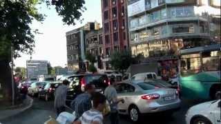 One minute in ISTANBUL TURKEY Одна минута из Жизни Стамбула - 2012
