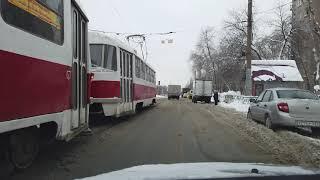 В Самаре брошенные авто мешают чистить дороги от снега