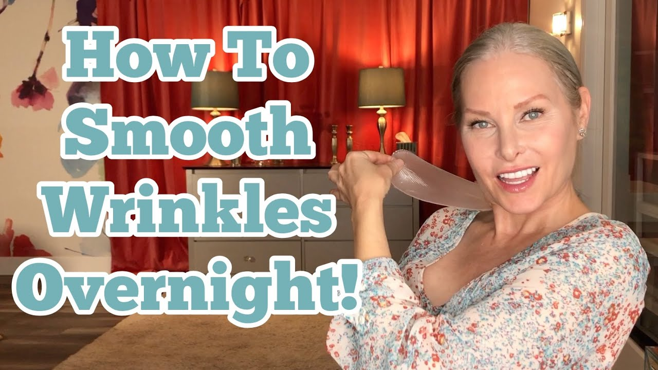 How To Smooth Wrinkles Overnight!