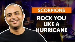 Rock You Like a Hurricane - Scorpions (aula de bateria)