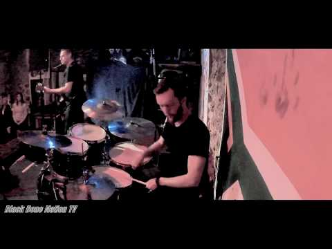 Black Bone Nation - Kick To The Teeth - Henri Viljoen Drum Cam - Railways Café, South Africa 2019